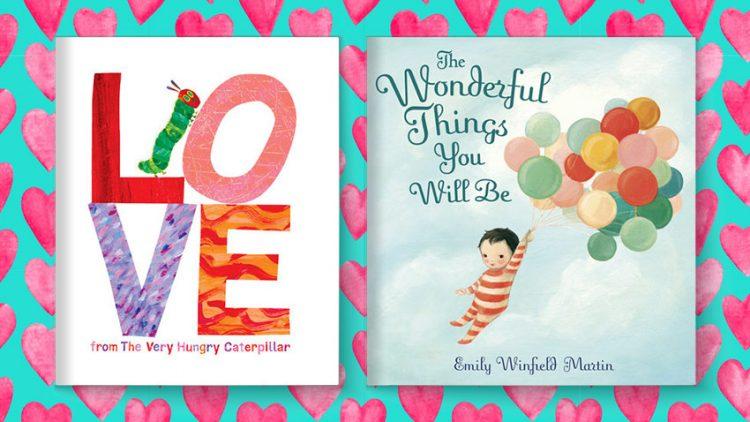 Sách về tình yêu dành cho bé 0-8 tuổi