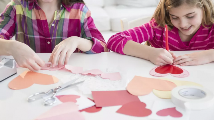Tải miễn phí các trang tô màu chủ đề Valentine