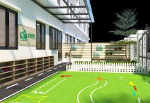 trường mầm non Ý Việt Montessori tại quận Cầu Giấy, quận Tây Hồ - Hà Nội (Ảnh: website trường)