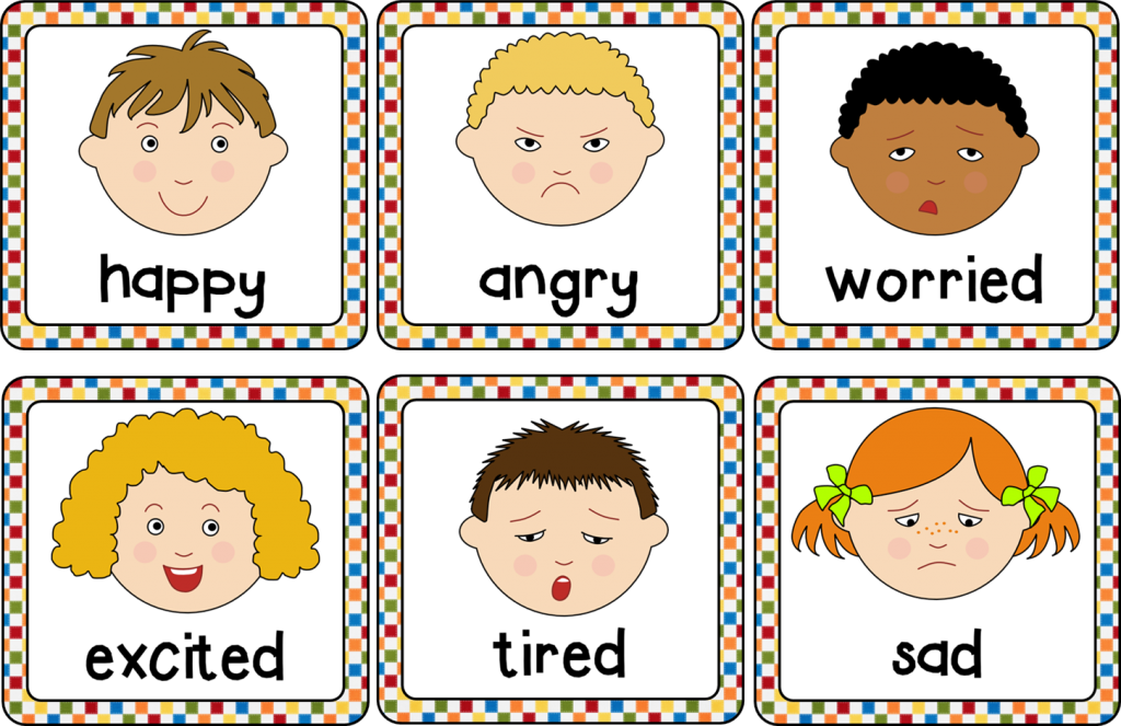 7 trò chơi với thẻ giúp dạy trẻ về cảm xúc (Ảnh: Pinterest)
