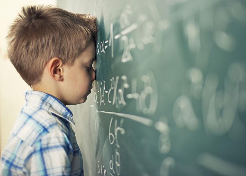 """Giúp trẻ vượt qua """"nỗi sợ Toán"""" như thế nào? (Ảnh: We Are Teachers)"""