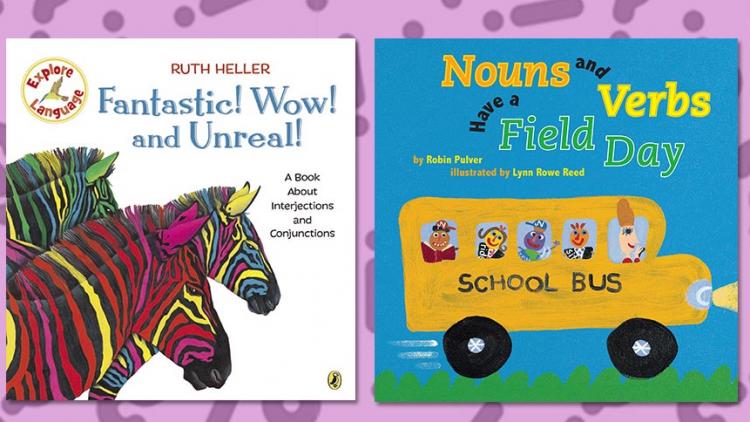 12 cuốn sách tranh dạy trẻ quy tắc ngữ pháp tiếng Anh