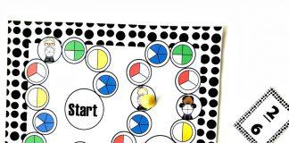 Toán tiếng Anh: 7 trò chơi giúp trẻ học về phân số (Ảnh: Math Geek Mama)