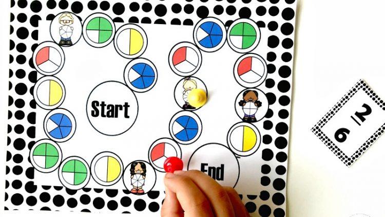 Toán tiếng Anh: 7 trò chơi giúp trẻ học về phân số