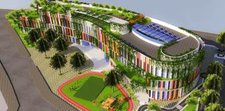 Trường Genesis liên cấp mầm non, Tiểu học tại quận Tây Hồ, Hà Nội (Ảnh: website trường)