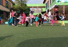 trường mầm non Thiên Đường Trẻ Thơ tại quận Long Biên, Hà Nội (Ảnh: FB trường)