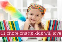 Tham khảo ý tưởng tự lập bảng phân công việc nhà cho trẻ (Ảnh: MapleMoney)