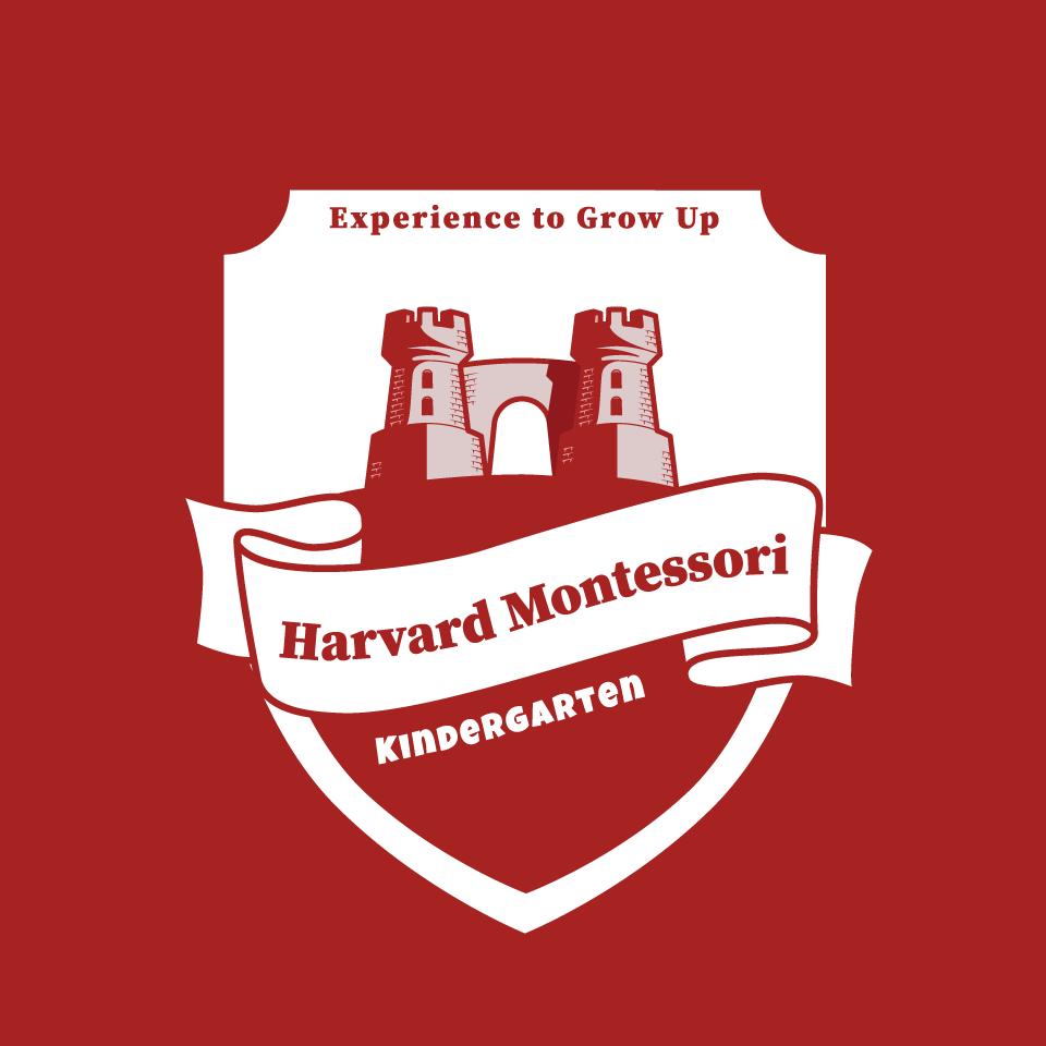 Logo trường mầm non Harvard Montessori tại quận Đống Đa, Hà Nội (Ảnh: FB trường)