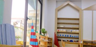 Cơ sở vật chất trường mầm non La Casa tại quận Thanh Xuân, Hà Nội (Ảnh: FB trường)
