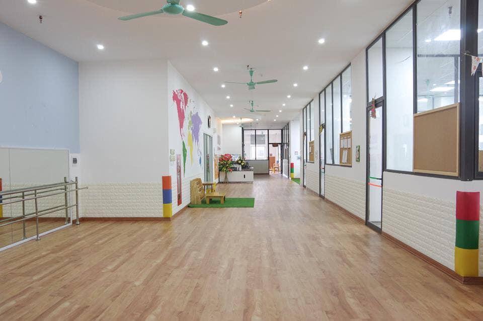 Cơ sở vật chất trường mầm non Talent Kids tại quận Bắc Từ Liêm, Hà Nội (Ảnh: FB trường)