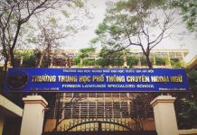 Học phí trường THPT trực thuộc trường đại học tại HN (Ảnh: ULIS VNU)