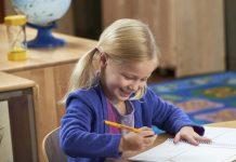 Những điều cha mẹ cần biết về kỹ năng viết cho trẻ 2-4 tuổi (Ảnh: New Horizon Academy)