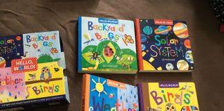 Sách phi hư cấu bằng tiếng Anh cho trẻ 1-3 tuổi (Ảnh: Carousell)