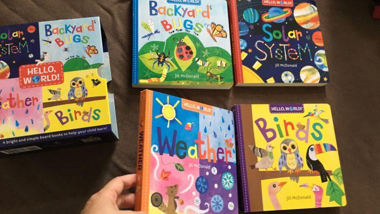 Sách phi hư cấu bằng tiếng Anh cho bé 1-3 tuổi