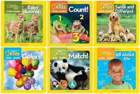 Sách phi hư cấu bằng tiếng Anh cho trẻ 1-3 tuổi (Ảnh: 5 Minutes for Mom)