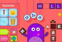 Trò chơi với từ tiếng Anh giúp bé tăng vốn từ vựng (Ảnh: Microsoft)