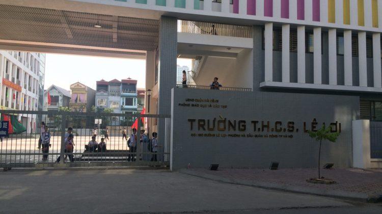 Trường THCS Lê Lợi (quận Hà Đông, HN)