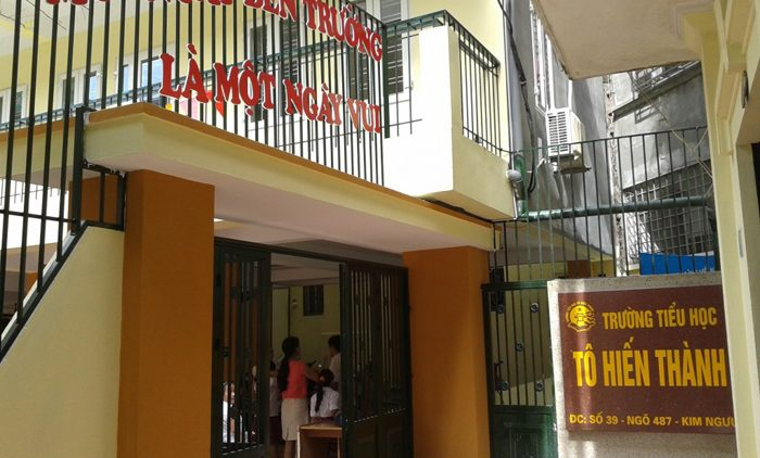 Trường Tô Hiến Thành liên cấp Mầm non – Tiểu học (Hai Bà Trưng, HN)