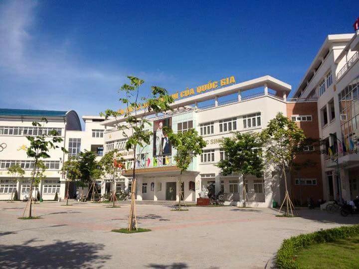 Trường THCS Chu Văn An tại Tứ Hiệp, Thanh Trì, HN (Ảnh: FB Confession trường)