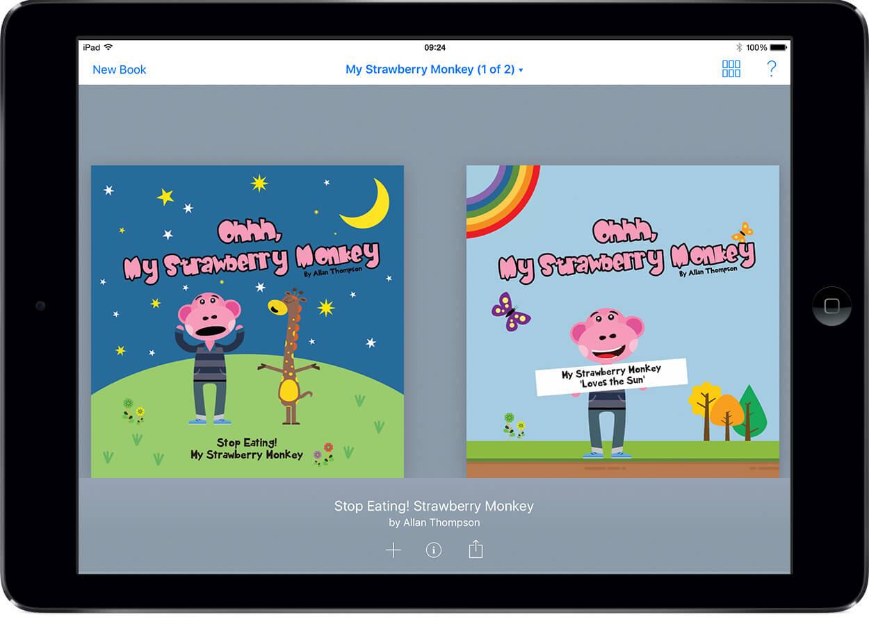 7 ứng dụng truyền cảm hứng sáng tạo cho bé (Ảnh: Book Creator)