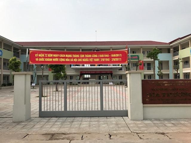 Gia Thượng - Tiểu học công lập quận Long Biên, Hà Nội (Ảnh: website nhà trường)
