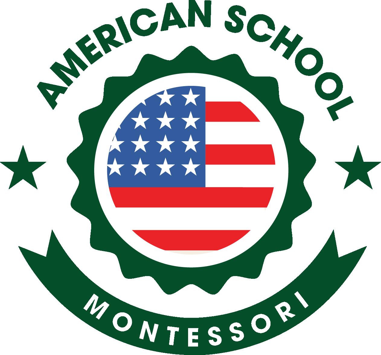 Logo trường mầm non Việt Mỹ Montessori tại Hà Nội (Ảnh: website trường)