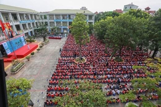 Gia Thuỵ - Tiểu học công lập quận Long Biên - Hà Nội (Ảnh: An Toàn Giao Thông)