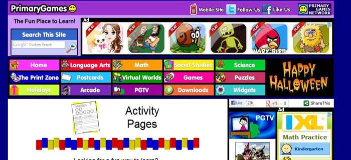 Ảnh: Best Kids Websites