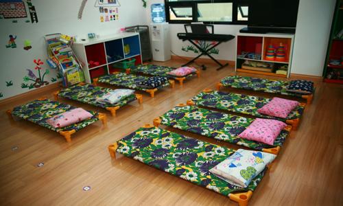 Cơ sở vật chất trường mầm non Bibo House tại quận Cầu Giấy, Hà Nội (Ảnh: website trường)