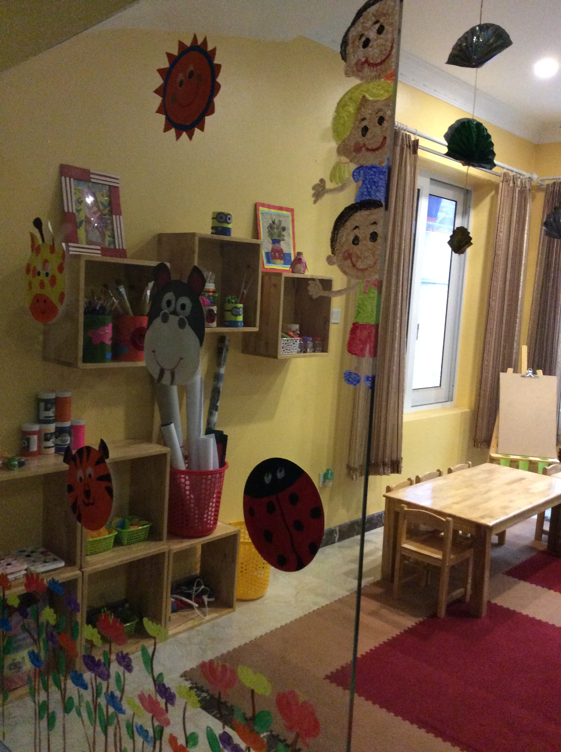 Cơ sở vật chất trường mầm non Big Family tại quận Nam Từ Liêm, Hà Nội (Ảnh: website trường)