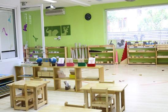 Cơ sở vật chất trường mầm non Star Montessori International School - SMIS tại quận Cầu Giấy và quận Hai Bà Trưng, Hà Nội (Ảnh: website trường)