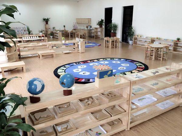 Cơ sở vật chất trường mầm non Panda House Montessori, Hà Nội (Ảnh: website trường)