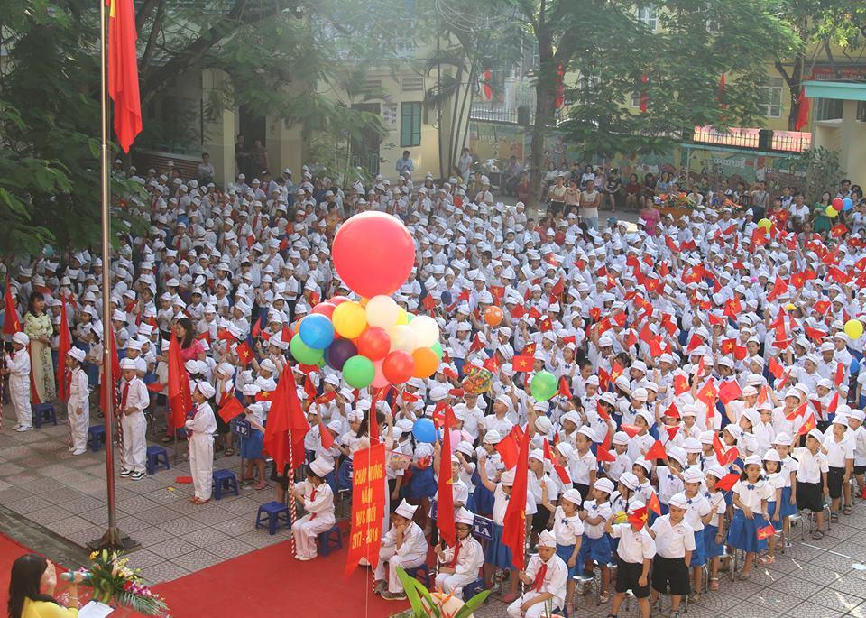 Trường Tiểu học công lập quận Hà Đông - Nguyễn Trãi (Ảnh: website nhà trường)