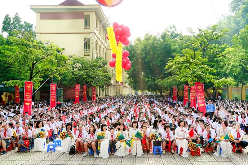 Chu Văn An - Trường THCS công lập quận Tây Hồ, Hà Nội (Ảnh: website nhà trường)