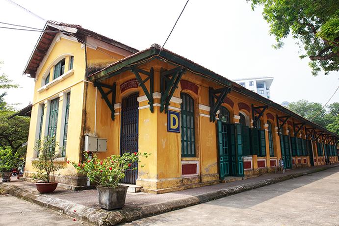 Cơ sở vật chất THPT Chu Văn An, quận Tây Hồ, Hà Nội (Ảnh: websit trường)