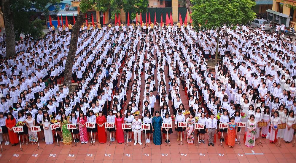 Đống Đa - trường THPT công lập quận Đống Đa - Hà Nội (Ảnh: website nhà trường)
