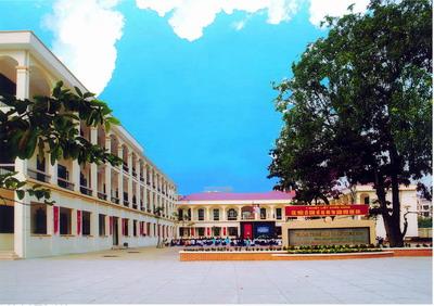 Trường THCS công lập quận Cầu Giấy Trung Hoà (Ảnh: caugiay.edu.vn)