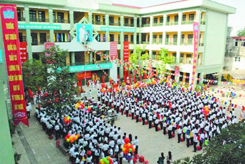 Lương Yên - Trường THCS công lập quận Hai Bà Trưng, Hà Nội (Ảnh: Kinh Tế Đô Thị)