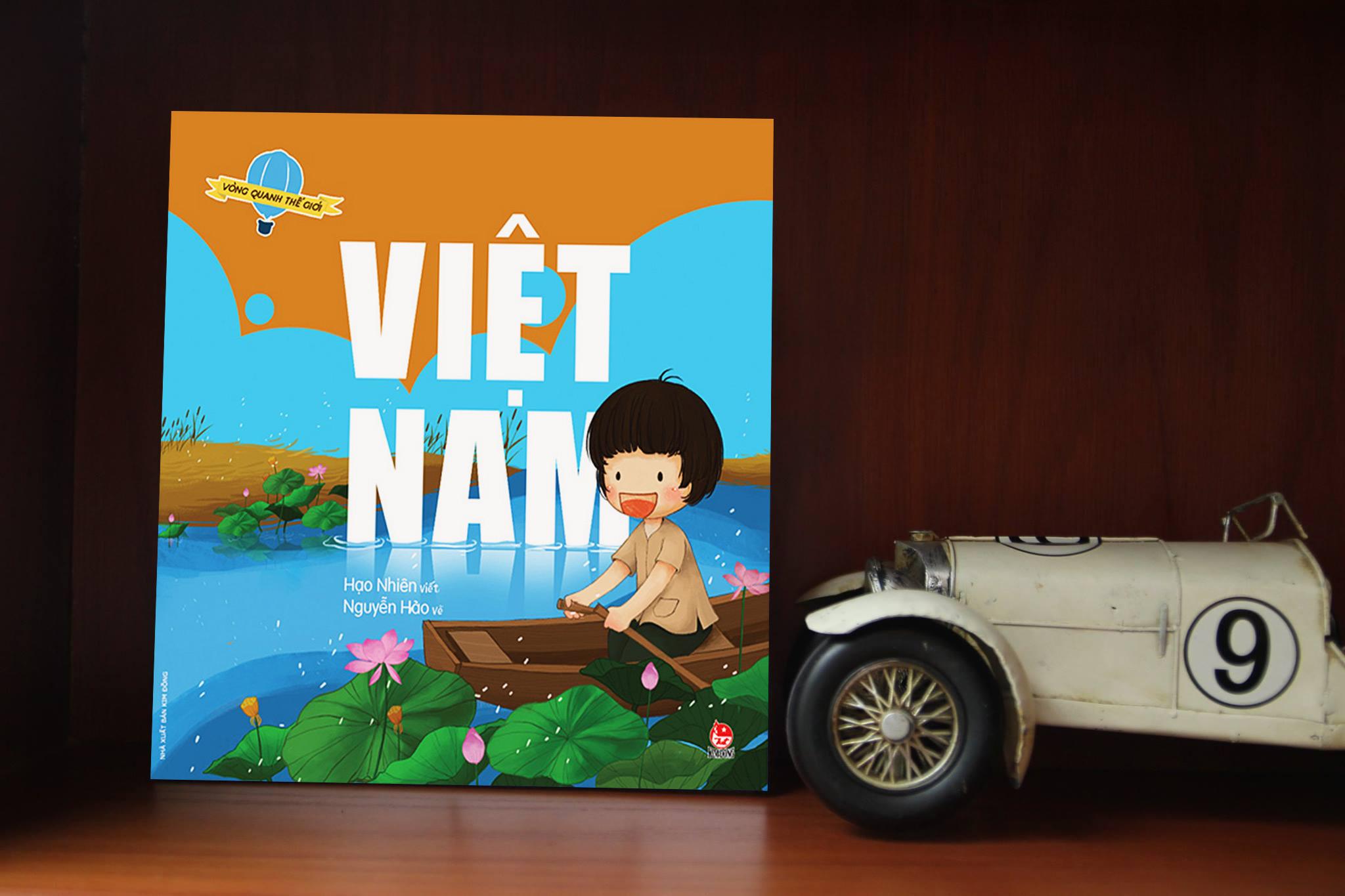 Vòng quanh thế giới - Việt Nam (Ảnh: Adayroi)