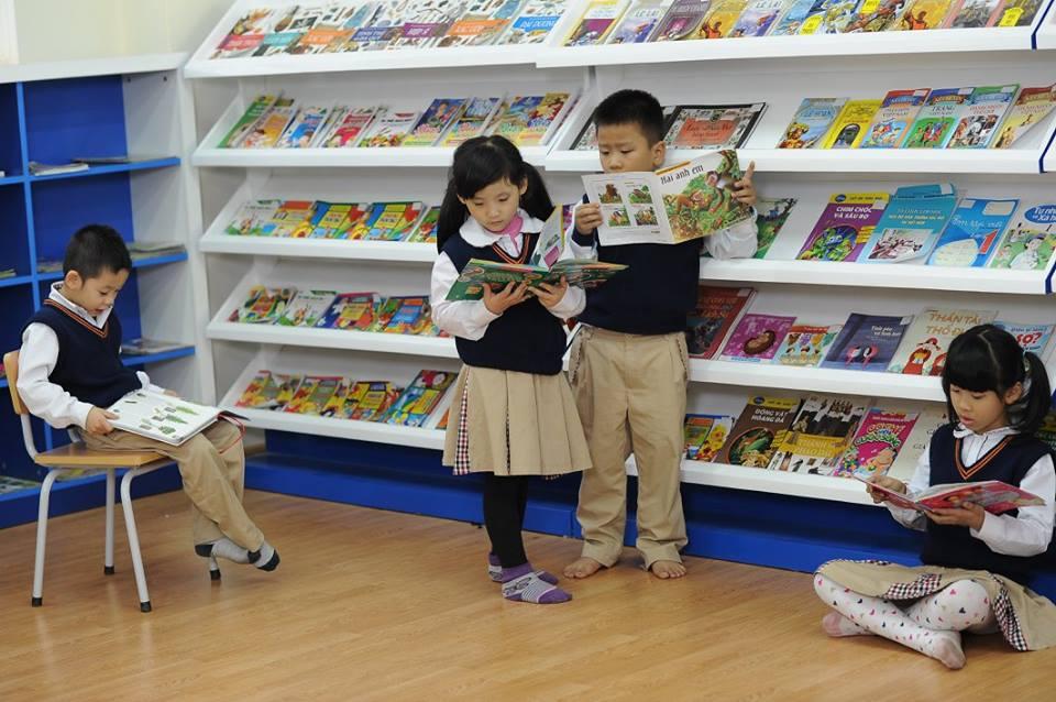 Cơ sở vật chất trường Tiểu học Công nghệ Giáo dục Hà Nội (Ảnh: website nhà trường)