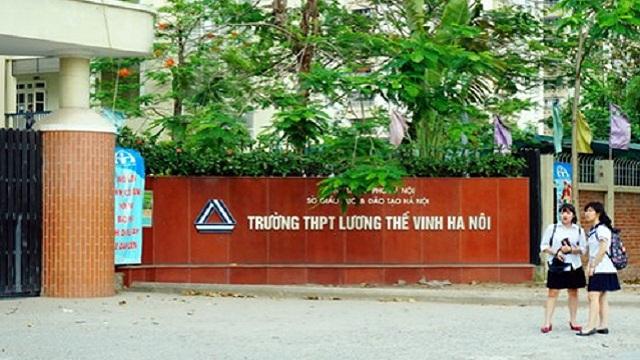 Cơ sở vật chất trường Lương Thế Vinh - Trường THCS và THPT dân lập Hà Nội (Ảnh: VietnamNet)