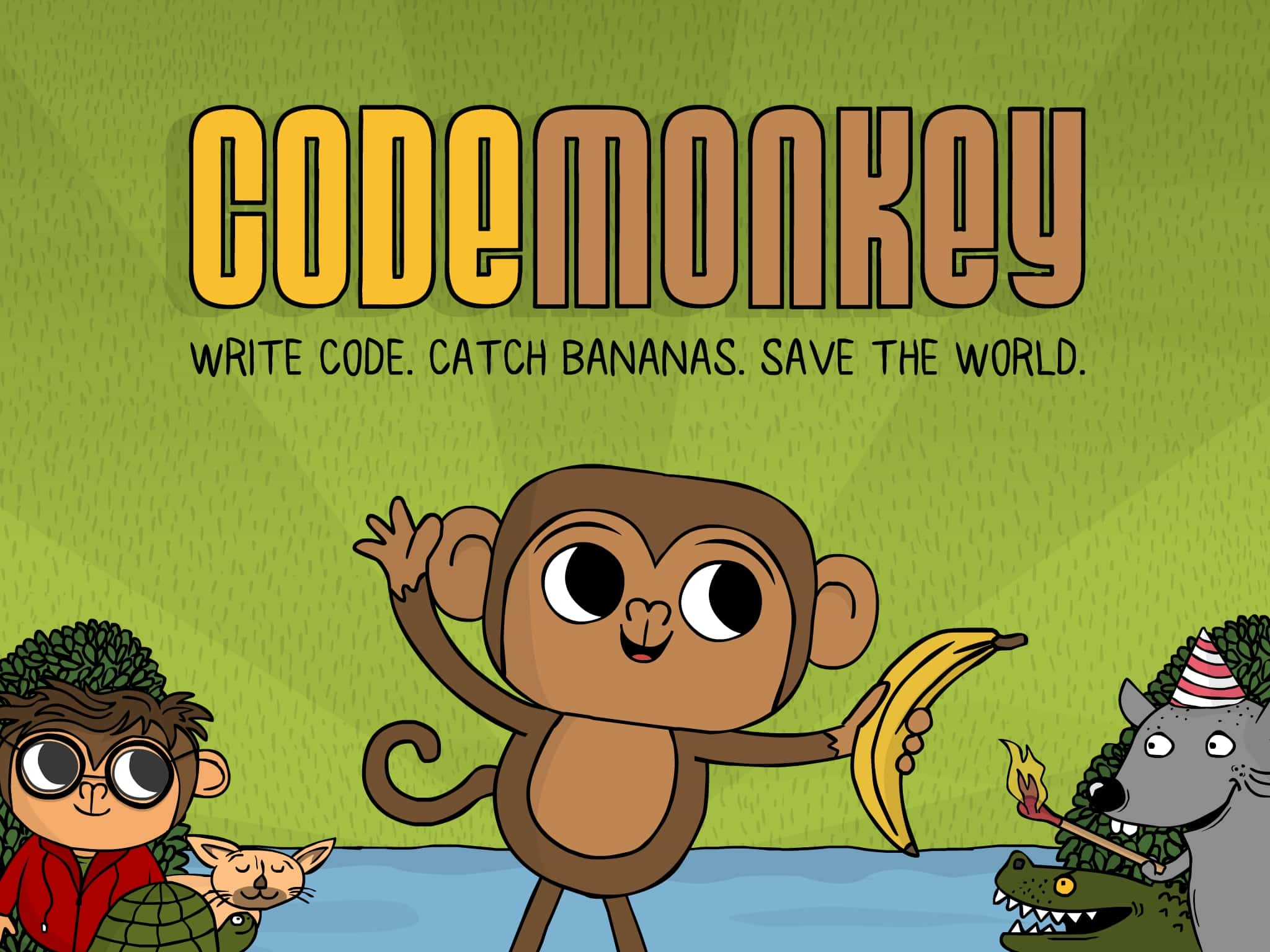 Hình ảnh trên trang web dạy lập trình Code Monkey (Ảnh: Play Code Monkey)