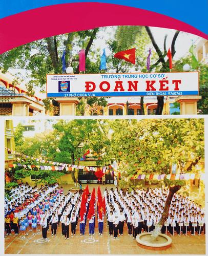 Đoàn Kết - Trường THCS công lập quận Hai Bà Trưng, Hà Nội (Ảnh: website nhà trường)