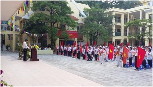 Thống Nhất - THCS công lập quận Ba Đình - Hà Nội (Ảnh: website nhà trường)
