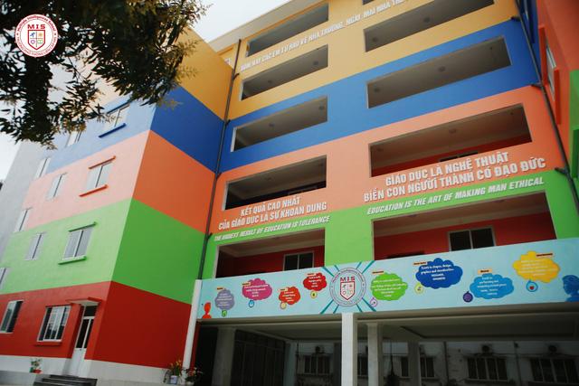 Cơ sở vật chất trường phổ thông liên cấp Đa Trí Tuệ - MIS bao gồm các cấp Tiểu học, THCS, THPT tại quận Cầu Giấy - Hà Nội (Ảnh: website trường)