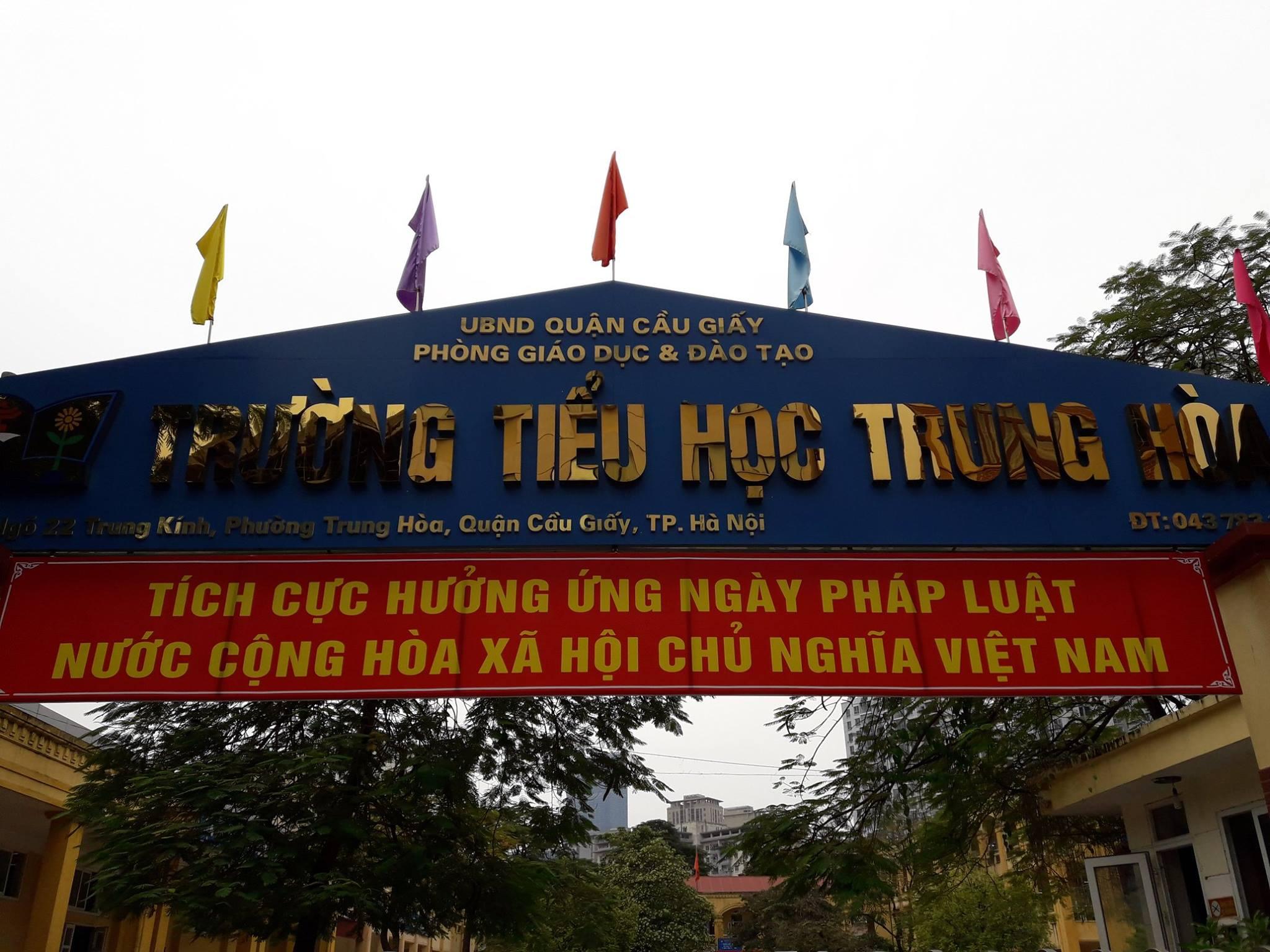 Trường Tiểu học Trung Hoà, Cầu Giấy (Ảnh: EduSTEM Academy)