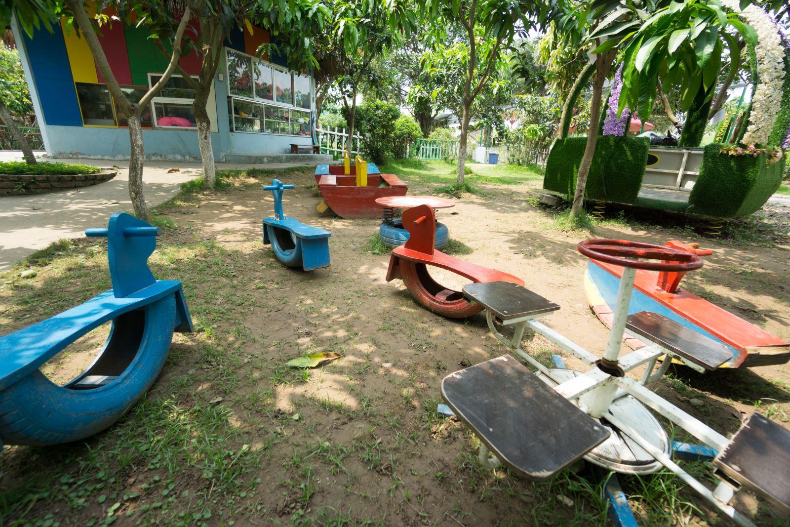 Cơ sở vật chất trường mầm non Eraschool cơ sở Long Biên, quận Long Biên, Hà Nội (Ảnh: website trường)