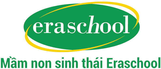 Logo trường mầm non Eraschool, quận Long Biên, Hà Nội (Ảnh: website trường)