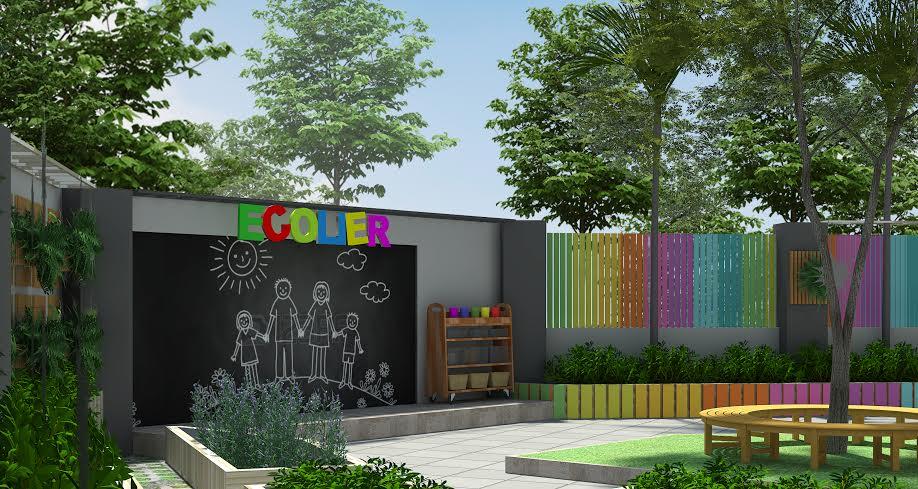 Cơ sở vật chất trường mầm non Fairy World tại quận Tây Hồ, Hà Nội (Ảnh: website trường)