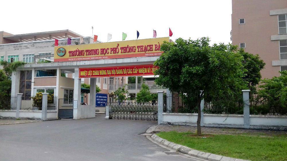 Thạch Bàn - Trường THPT công lập quận Long Biên, Hà Nội (Ảnh: Gia Sư Sư Phạm)